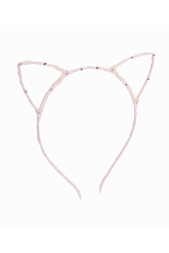 Bari Lynn Cat Ear Headband Scattered Crystal - Product List Image