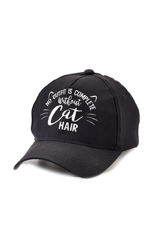 "Shoptiques Product: ""Cat Hair"" Hat"