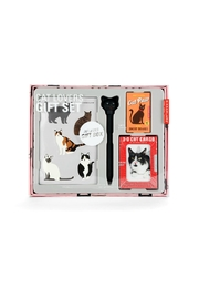 Kikkerland Design Cat-Lovers Gift Set - Product Mini Image