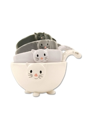 One Hundred 80 Degrees Cat Measuring Cups - Product Mini Image