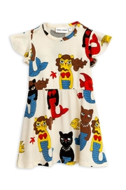 Mini Rodini Cat Mermaid Dress - Front cropped