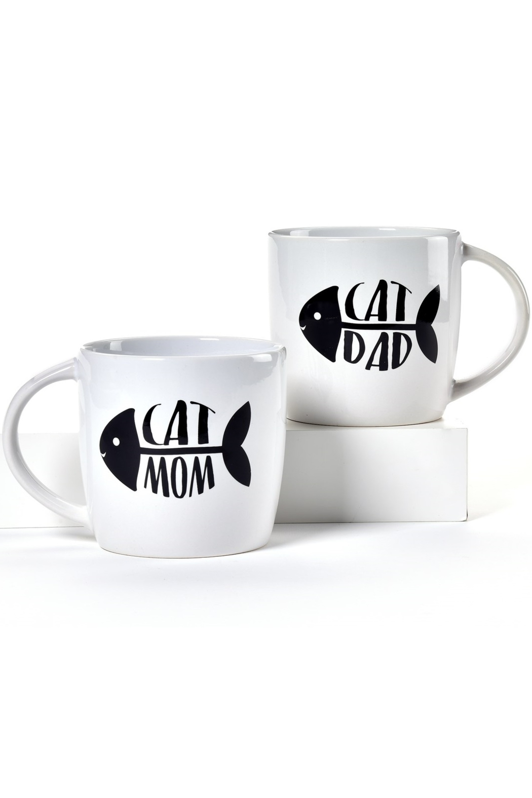 Giftcraft Inc.  Cat Parents Mug! - Front Cropped Image
