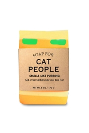 WHISKEY RIVER SOAP CO. Cat People Soap - Product Mini Image