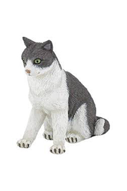 Papo Cat Sitting Down - Product Mini Image