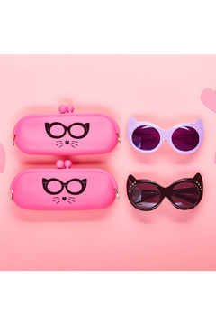 Cupcakes and Cartwheels Cat-titude Children's Sunglasses with Rhinestone Accents - Product List Image