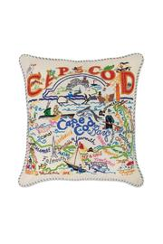 Cat Studios Cape Cod Embroidered-Pillow - Product Mini Image