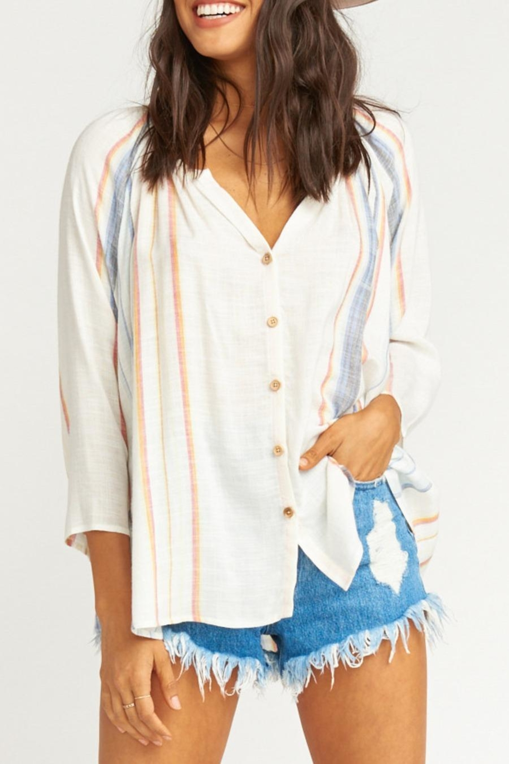 Show Me Your Mumu Catalina Cup Tunic - Front Full Image