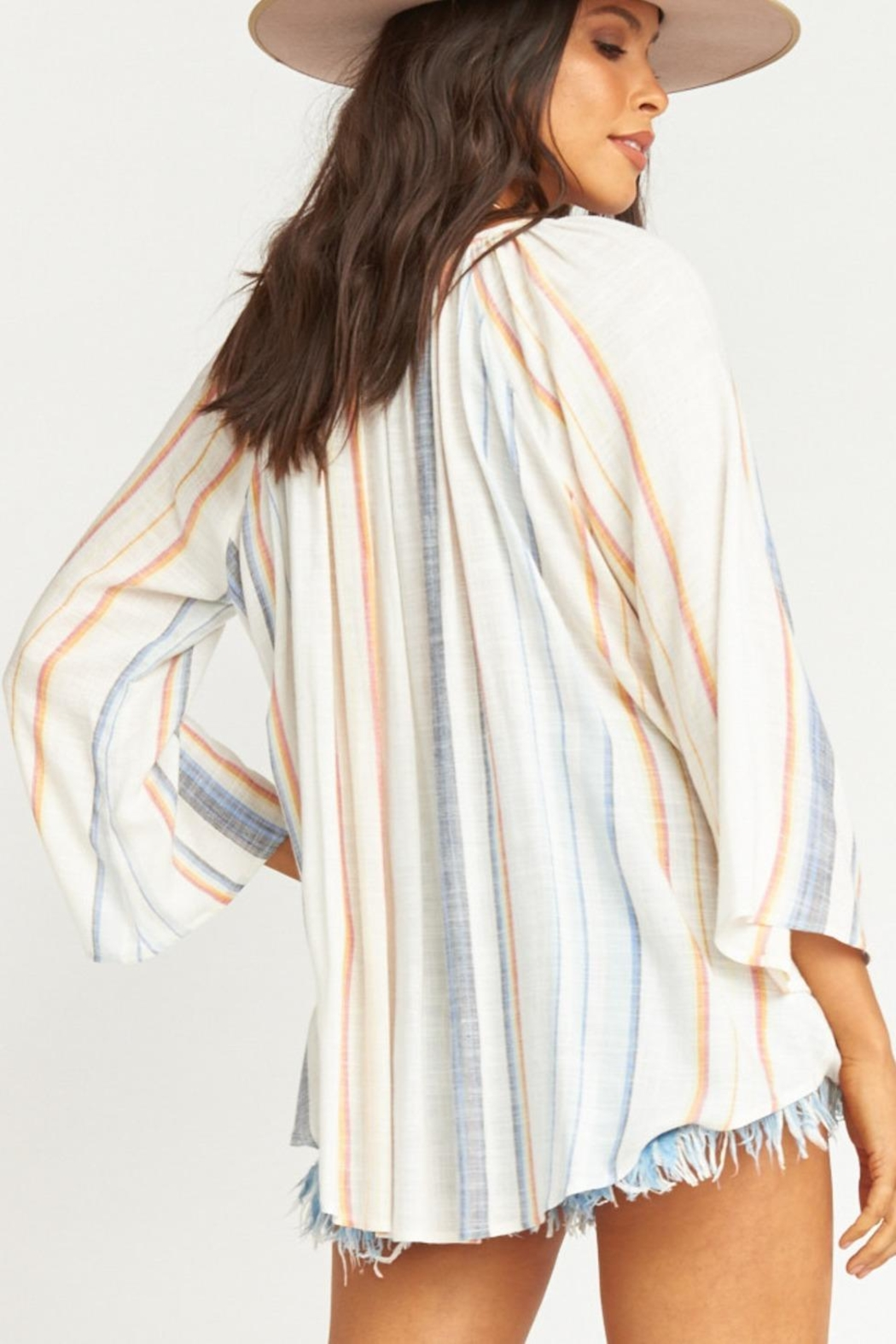 Show Me Your Mumu Catalina Cup Tunic - Back Cropped Image