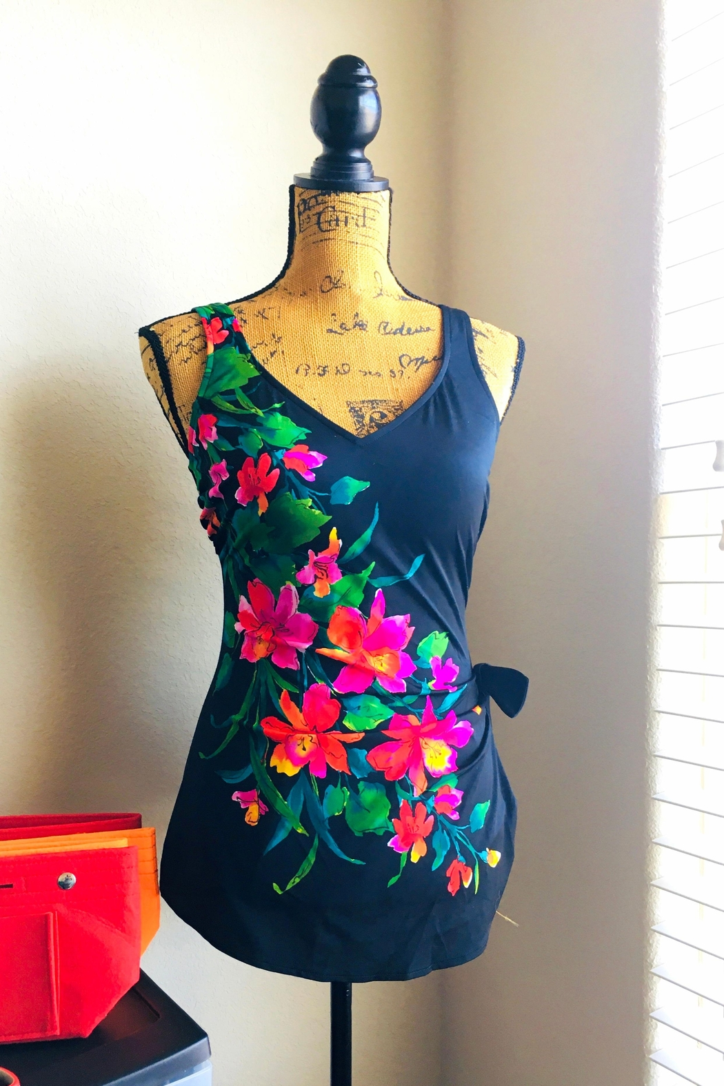Catalina Floral One-Piece Swimsuit - Main Image