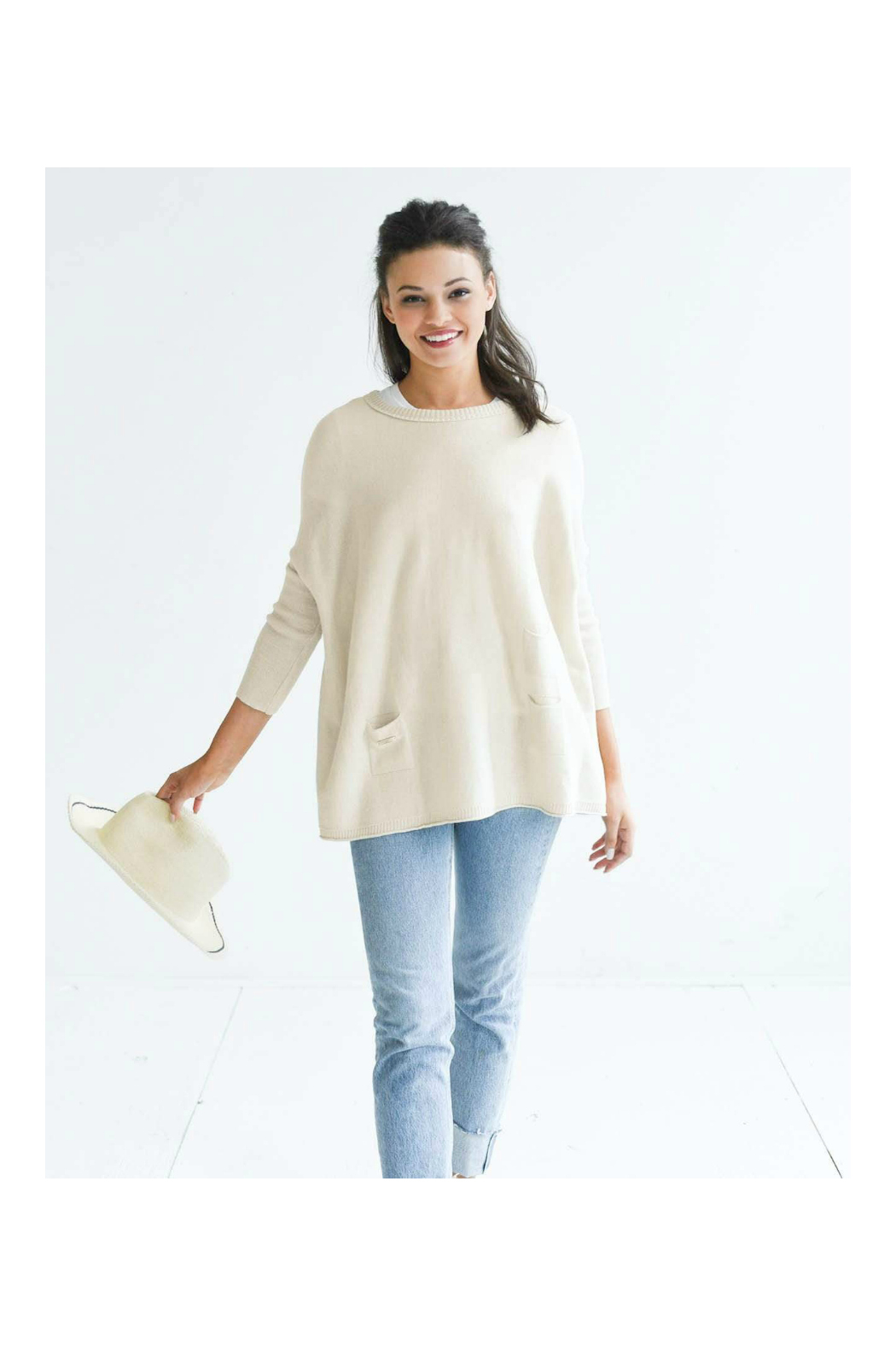 Mer Sea & Co Catalina Sweater - Front Cropped Image