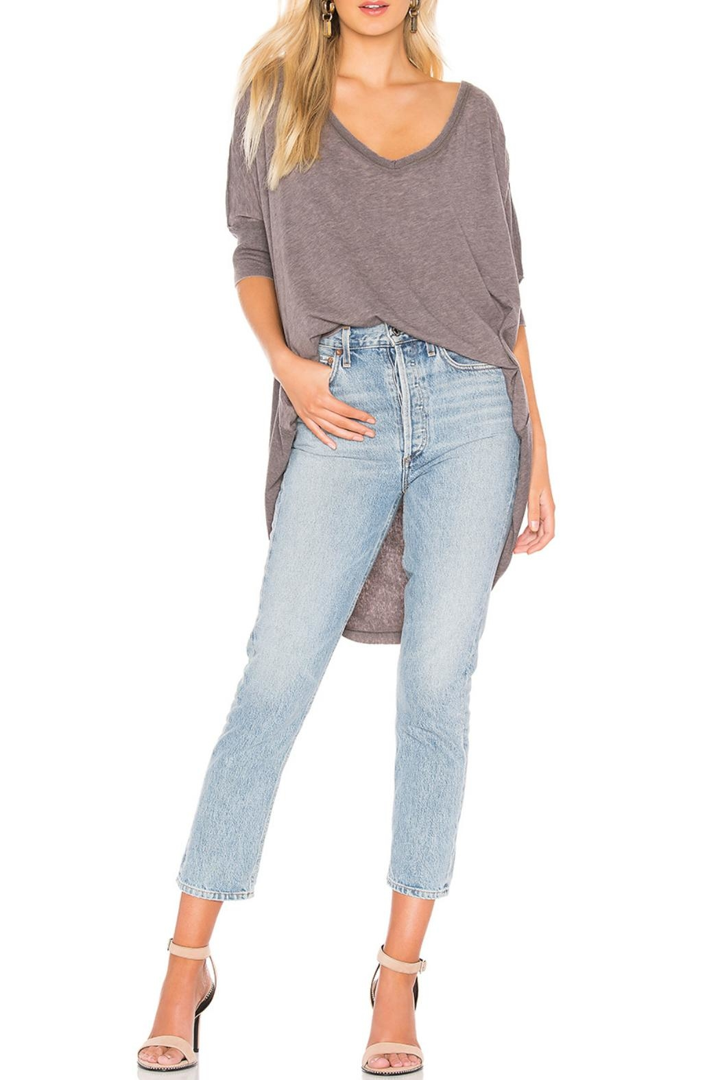 Free People Catch Waves Tee - Front Cropped Image