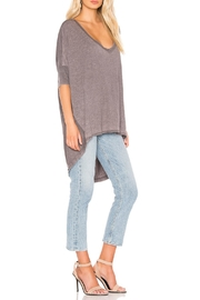 Free People Catch Waves Tee - Front full body