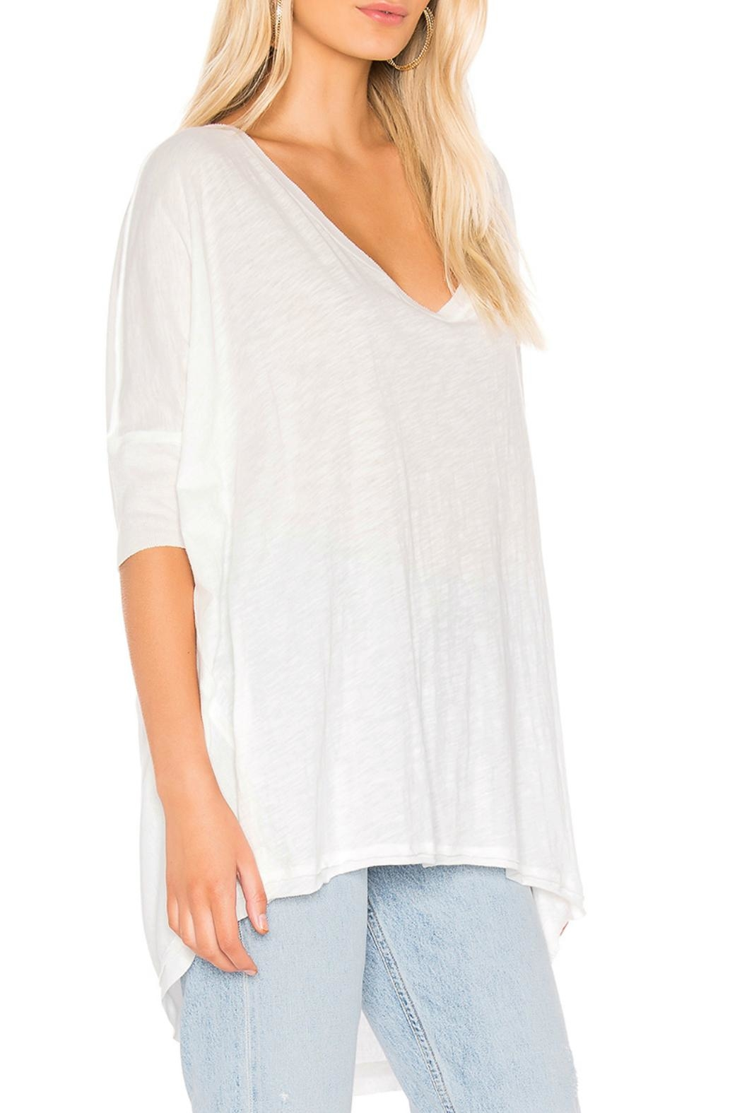 Free People Catch Waves Tee - Front Full Image