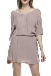 Catch Me Woven Tie Dress - Front full body