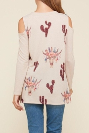 Vision Catcus Cowhead Sweater - Front full body