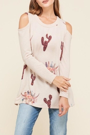 Vision Catcus Cowhead Sweater - Product Mini Image