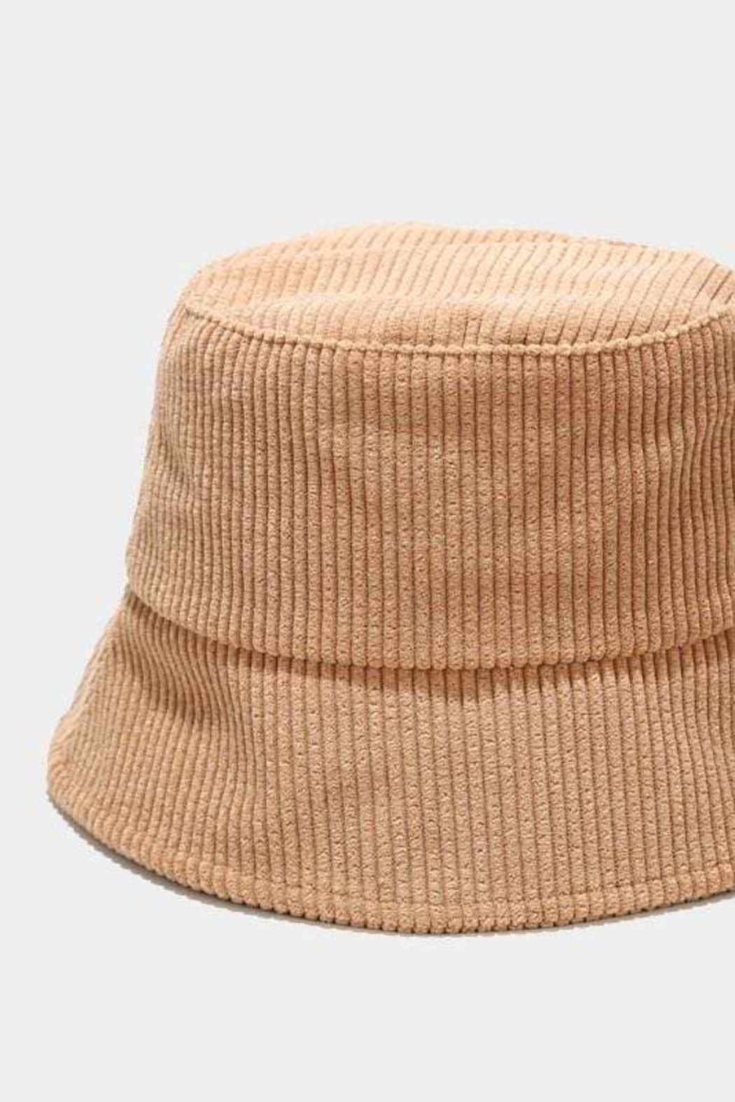 Virginia Wolf Cate Corduroy Bucket Hat - Front Cropped Image
