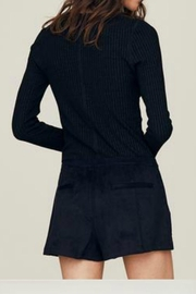 David Lerner Cate Henley Top - Front full body