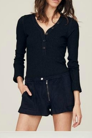 David Lerner Cate Henley Top - Product Mini Image