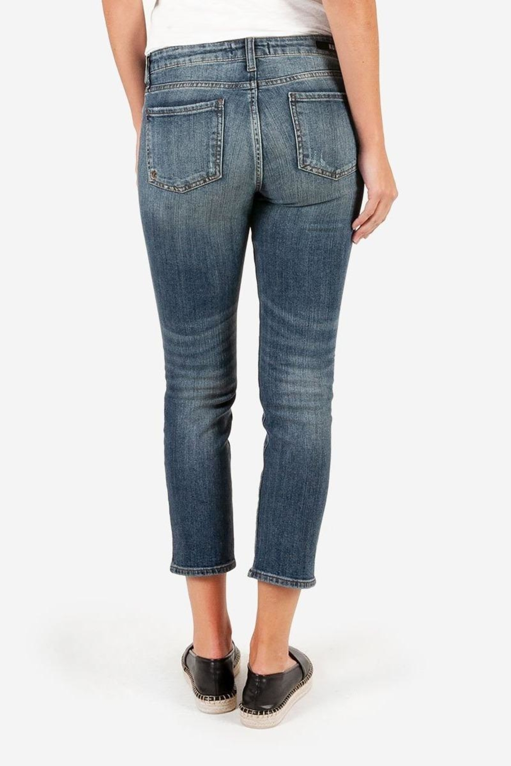 Kut from the Kloth Catherine Ankle Straight-Leg - Back Cropped Image