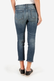 Kut from the Kloth Catherine Ankle Straight-Leg - Back cropped