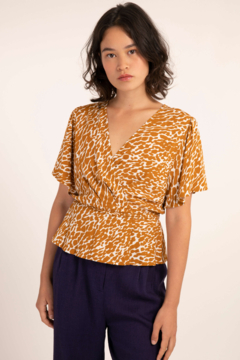 FRNCH Catherine Cross-Body Top - Product List Image