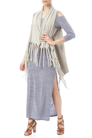 Catherine Lillywhite Fringed Vest - Front full body