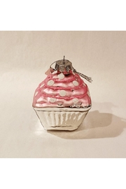 Catherine Lillywhite Pink Cupcake Ornament - Product Mini Image