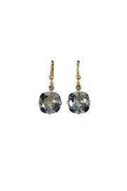 Catherine Popesco for La Vie Parisienne Black Diamond Swarovski Earrings - Product Mini Image
