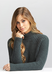 Tart Collections Cati Mock Neck Sweater - Front full body