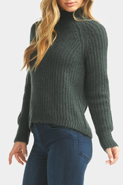 Tart Collections Cati Mock Neck Sweater - Back cropped