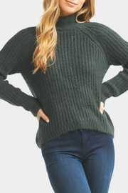 Tart Collections Cati Mock Neck Sweater - Side cropped