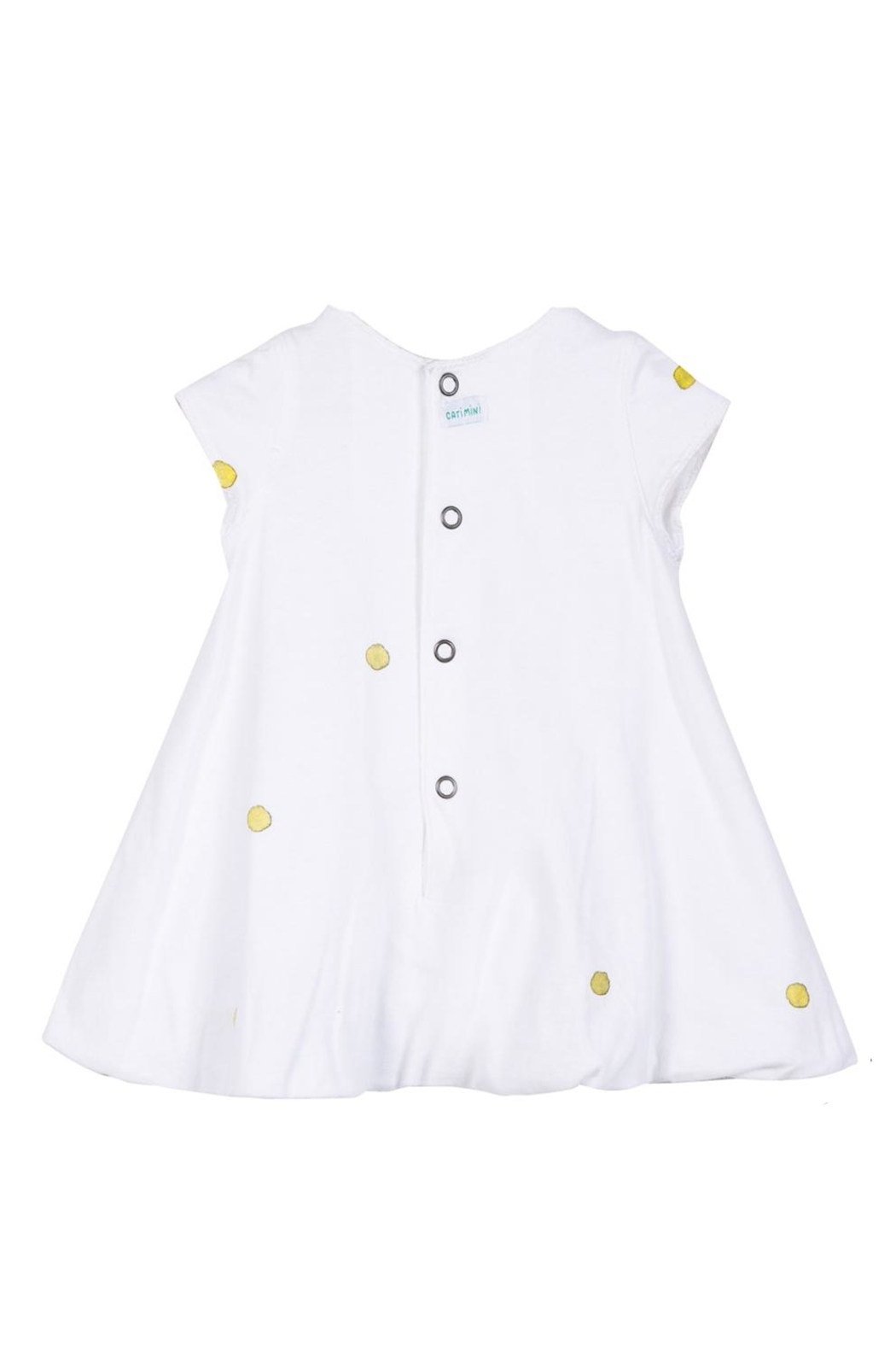 Catimini Bunny Bubble Dress - Front Full Image
