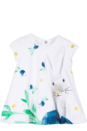Catimini Bunny Bubble Dress - Front cropped