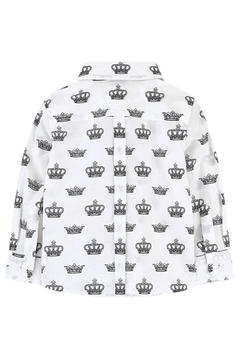 Catimini Crown Print Shirt - Alternate List Image