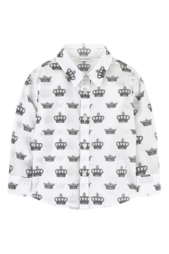 Catimini Crown Print Shirt - Product List Image