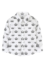 Catimini Crown Print Shirt - Product Mini Image