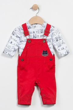 Shoptiques Product: Dungarees And T-Shirt