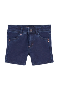 Catimini Knit Denim Shorts - Product List Image