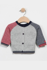 Catimini Knitted Printed Cardigan - Front full body