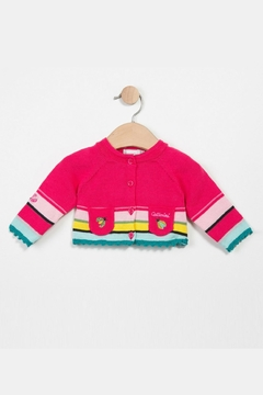 Shoptiques Product: Multicolor Knitted Cardigan