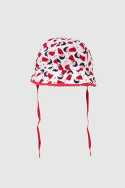 Catimini Printed Percale Hat - Product Mini Image