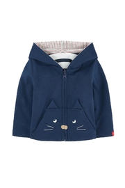 Catimini Reversible Hoodie - Front cropped
