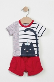 Catimini Shorts And T-Shirt - Front cropped