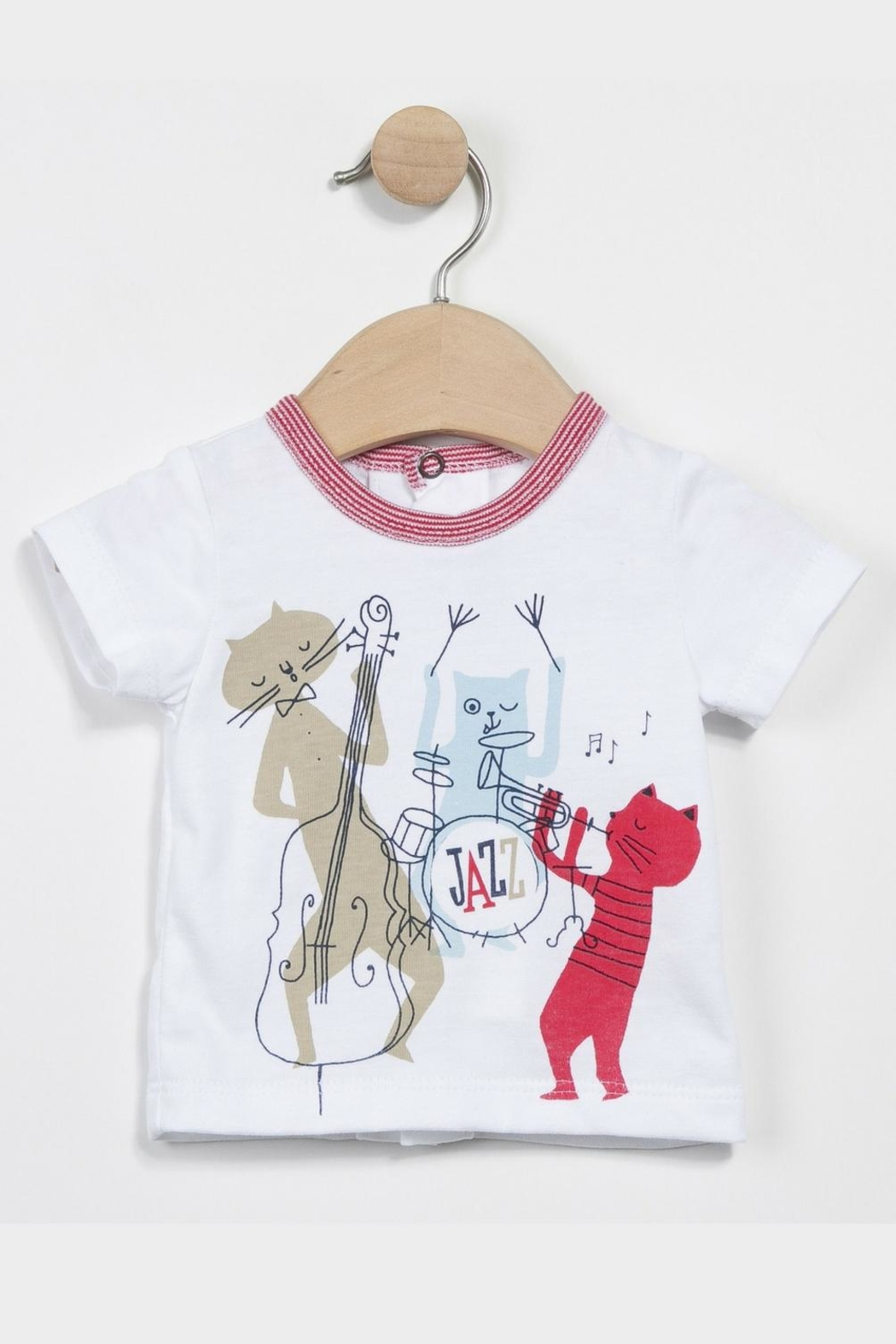 Catimini T-Shirt And Trousers - Front Full Image
