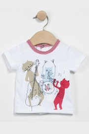 Catimini T-Shirt And Trousers - Front full body