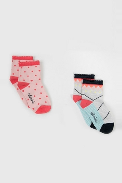 Shoptiques Product: Two Pack Of Socks
