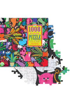 Eeboo Cats at Work 1000 Piece Puzzle - Alternate List Image