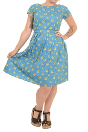 Pink Poodle Boutique Cats Skater Dress - Front cropped