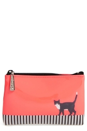 Catseye London Cat Stripe Pouch - Front cropped
